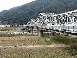 可部線沿いの54号線にかかる橋