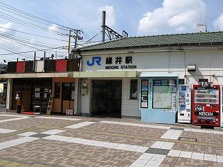 JR可部線緑井駅