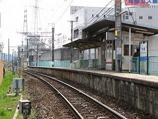 JR中島駅ホーム