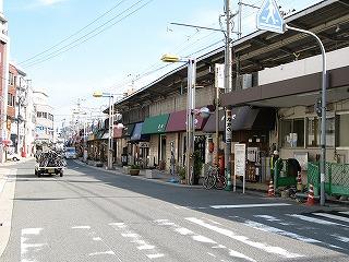 横川駅北口通り