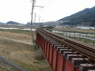 可部線の鉄橋