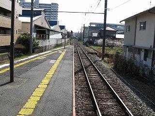 安芸長束駅ホーム