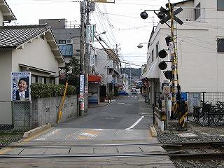 安芸長束駅前通り