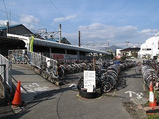 下祇園駅駐輪場