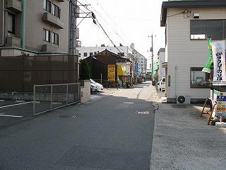 下祇園駅駅前通り