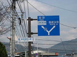 古市橋駅駅前道路(旧国道)